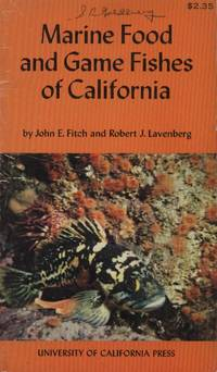 image of Marine Food and Game Fishes of California
