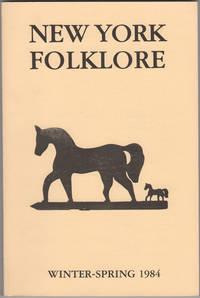 New York Folklore.  Vol. X, No. 1-2. Winter-Spring 1984