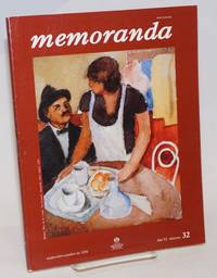 Memoranda: revista de la subdireccion general servicios sociales y culturales del ISSSTE; ano 6, #32, septiembre-octubre de 1994