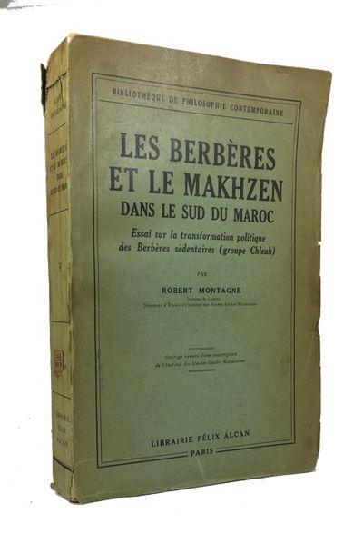 Paris: Felix Alcan, 1930. 1st ed. Paperback. Very Good. folding maps, xvi, 426p. Original wrapper. 2...