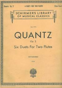 Johann Joachim Quantz Op. 2 Six Duets for Two Flutes (Vol. 1773)  (Flute I only)