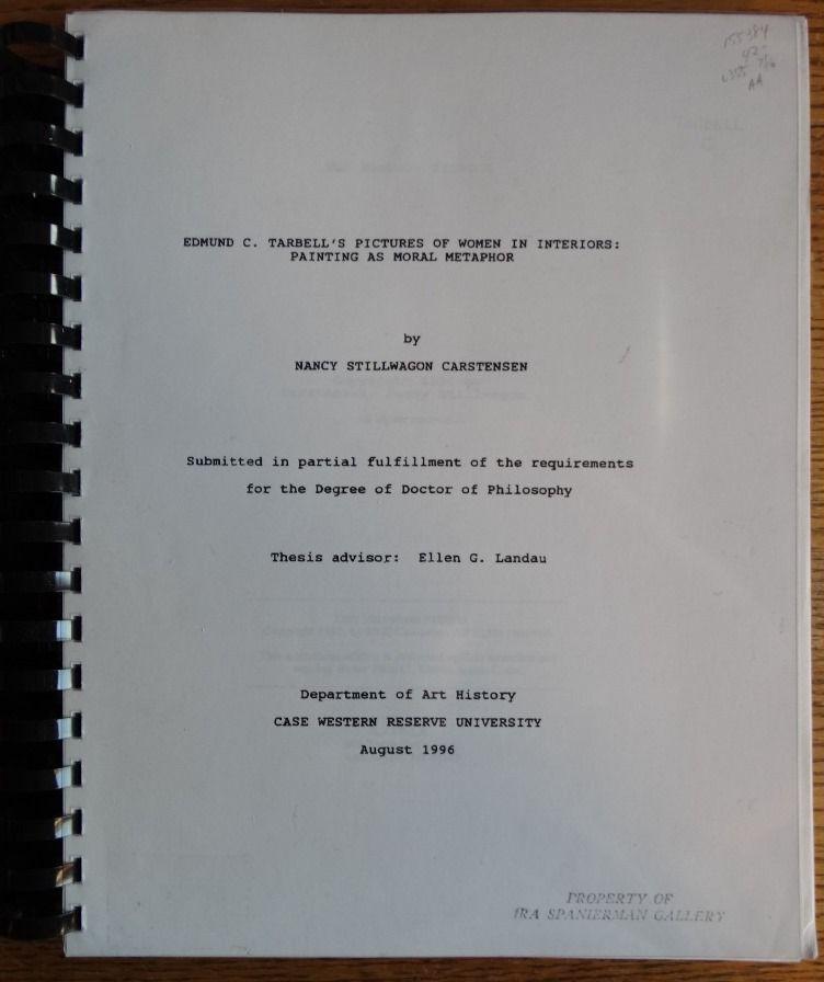 University Of Michigan Dissertations On Microfilm – 492729