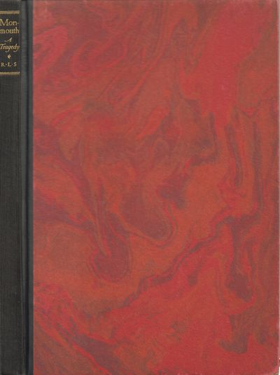 New York: William Edwin Rudge. Very Good. 1928. Hardcover. Marbled paper boards over quarter cloth b...