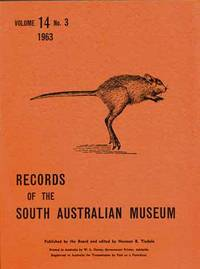 Records of the South Australian Museum Volume 14 No 3