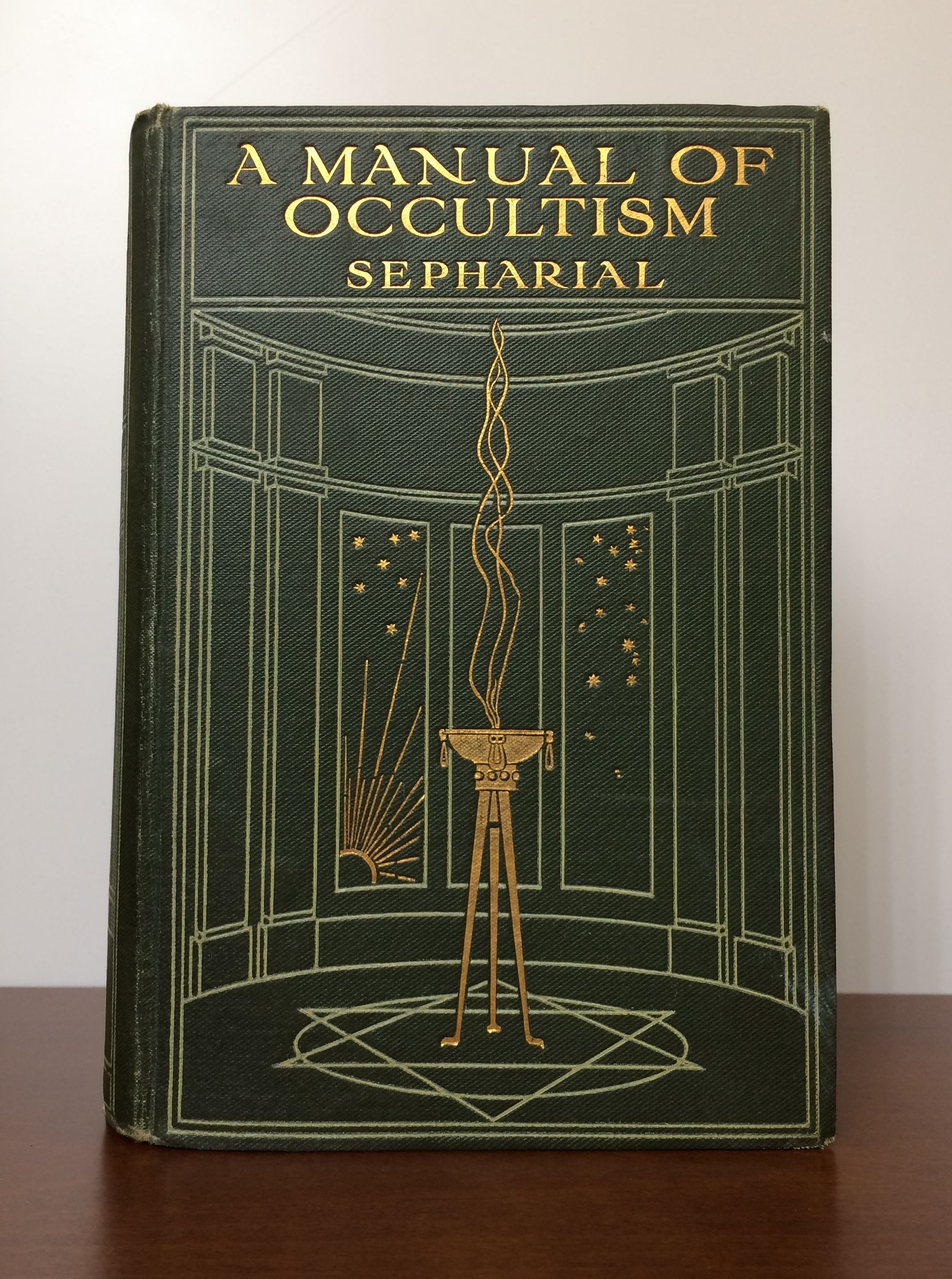 A Manual Of Occultism by Sepharial (Dr Walter Gorn Old) - First Edition -  1911 - from GatesPastBooks and Biblio com