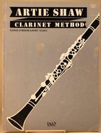 ARTIE SHAW CLARINET METHOD A School of Modern Clarinet Tecnic