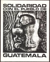 Solidaridad con el pueblo de Guatemala [screenprint poster]