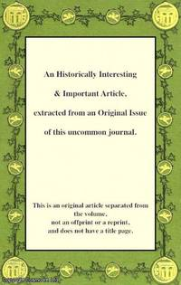 On an Improved Mode of Opening Oysters. An original article from the Technical Repository, 1825