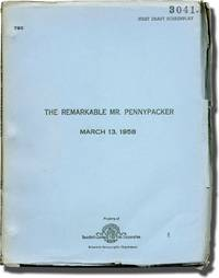 The Remarkable Mr. Pennypacker (Original screenplay for the 1959 film) by  Jill St. John (starring)  Charles Coburn - 1958 - from Royal Books, Inc. (SKU: 136425)