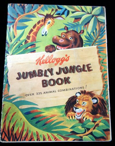Canada: Kellogg Company, 1948. The brightly colored book filled with forty-two (42) animals dressed ...