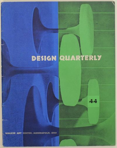 Minneapolis, MN: Walker Art Center, 1959. First edition. Softcover. 30 pages. A look at designer Les...