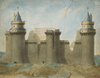 Pierrefonds' castle.