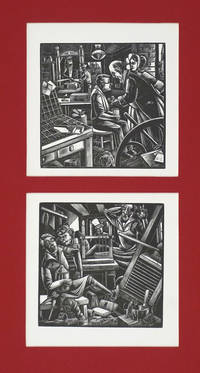 image of Tipping the good printer [with] drunken printer.  Woodblocks