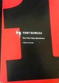Font Bureau: One-Line Type Specimens