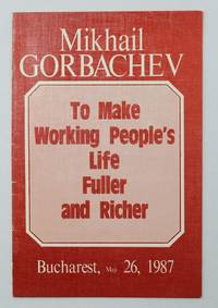 image of To Make Working People's Life Fuller and Richer