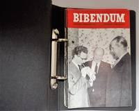 "Bibendum: ""is the House Journal of the Michelin Tyre Company Ltd  /  6 bi monthly volumes Jan - December 1961 { In Bibendum Ring Bound Folder }"