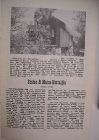 The Railroad Enthusiast Summer and Autumn 1970 Boston & Maine Railroad Issue Volume 7, Number 2