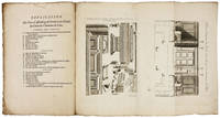 THE DESIGN AND CONSTRUCTION OF ECCLESIASTICAL INTERIORS IN 18TH CENTURY FRANCE PRINTED BY THE AUTHOR AND ARCHITECT HIMSELF – NO US COPYDesseins de developemens d'assemblages de differens ouvrages de menuiserie.