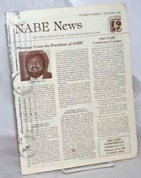 image of NABE News: vol. 6, #1, September 1982