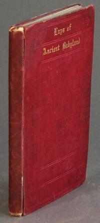 London: William Pickering, 1849. First edition, small, slim 8vo, pp. 111; engraved initials and head...