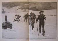 Tourists Crossing a Norwegian Glacier (Soartisen, Jotunheim)