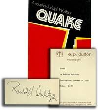 image of Quake (Signed First Edition, review copy)