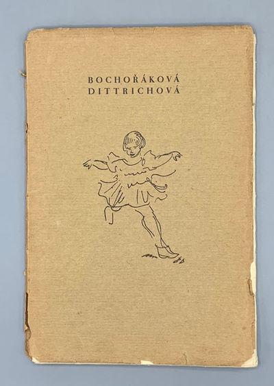 Nákladem Vlastnim, 1927. First edition. 28 loose leaves housed in publisher's envelope and printed ...
