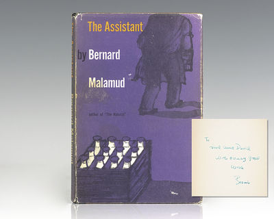 New York: Farrar, Straus and Cudahy, 1957. First edition of Malamud's second novel, which went on to...