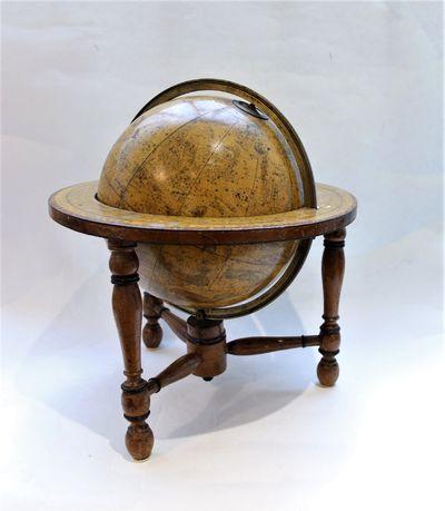A Newton 8 1/2 Inch Celestial Globe...