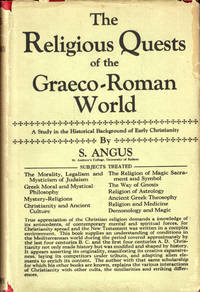 The Religious Quests of the Greco-Roman World