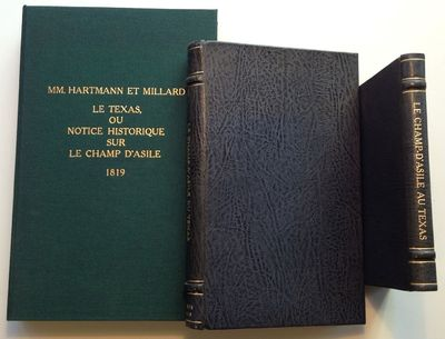 Paris: various, 1819. First. hardcover. very good. The titles are: (1.) (L'Heritier, Louis Francois)...