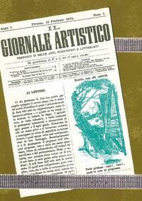 Il Giornale Artistico.  Periodico di Belle Arti, Scientifico e Letterario