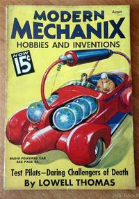 Modern Mechanix Hobbies And Inventions Magazine August 1936 - Battling The Termite - Unseen Wrecker Of Homes