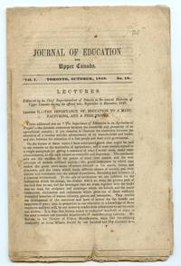 image of Journal of Education for Upper Canada, October 1848