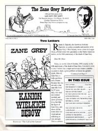 The Zane Grey Review: Vol 15, No. 3; April 2000 by  Carolyn (Ed.) Timmerman - Paperback - 2000 - from Clausen Books, RMABA (SKU: AC1784)