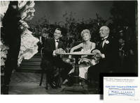 Can-Can (Original double weight photograph of Frank Sinatra, Shirley MacLaine, and Maurice Chevalier from the 1960 film)