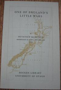 One of England's Little Wars : a letter to the Right Hon. the Duke of Newcastle, Secretary of...