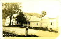 image of The Coolidge Home, Plymouth, VT Real-Photo Postcard