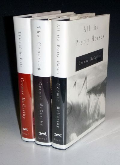 New York; 1992, 1994, 1998: Alfred a Knopf. First Editions. Octavo. The Trilogy: The Crossing (signe...