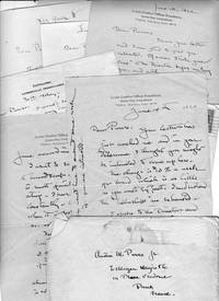 6 Autograph Letters, signed, to Austin M. Purves Jr, plus one addressed to [E.H.] Blashfield introducing Purves