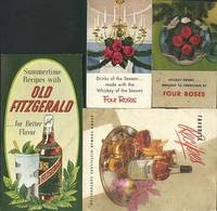 Old Fitzgerald, Old Forester, Four Roses pamphlets
