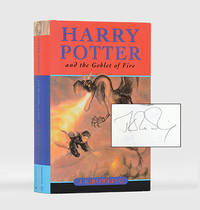 Harry Potter and the Goblet of Fire. by  J. K ROWLING - Hardcover - Signed - 2000 - from Peter Harrington and Biblio.com