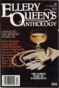 Ellery Queen's Anthology: Fall - Winter, 1981 (First Edition)