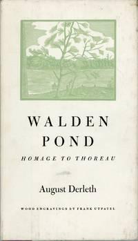 WALDEN POND: HOMAGE TO THOREAU ..