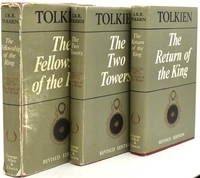image of THE LORD OF THE RINGS. (3 Volumes).  THE FELLOWSHIP OF THE RING; THE TWO TOWERS; THE RETURN OF THE KIND