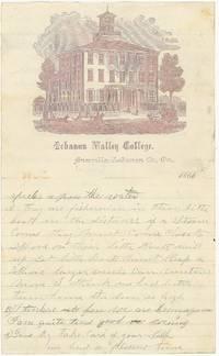 Lettersheet -- Lebanon Valley College