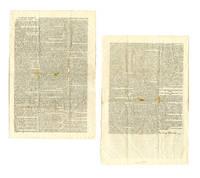 """President Jefferson by Proclamation"" French Spoliation Broadside"