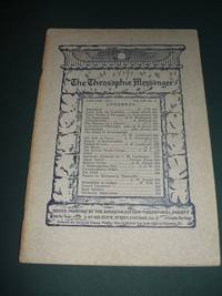 The Theosophic Messenger for January 1911