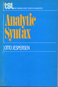 Analytic Syntax