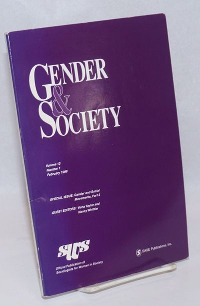 Thousand Oaks: SAGE & Sociologists for Women in Society, 1999. Paperback. 152p., introduction, refef...